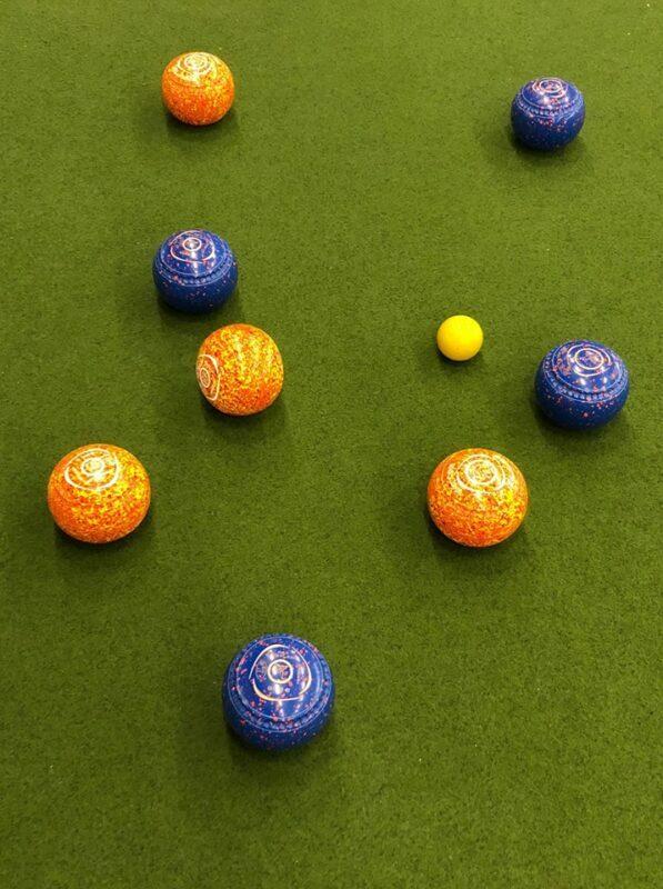 Bowls im Spiel